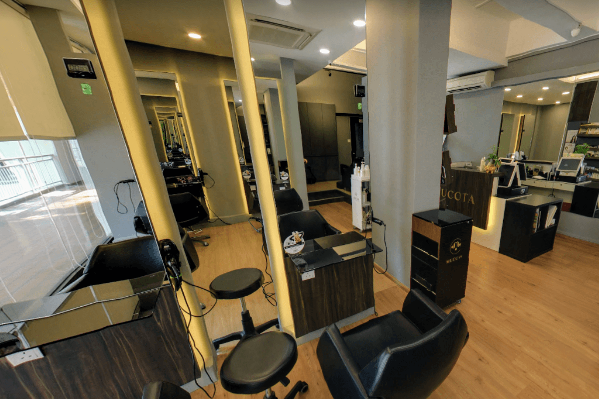 Kudos by Headlines Hairdressing @ Chinatown Hong Lim Complex Interior