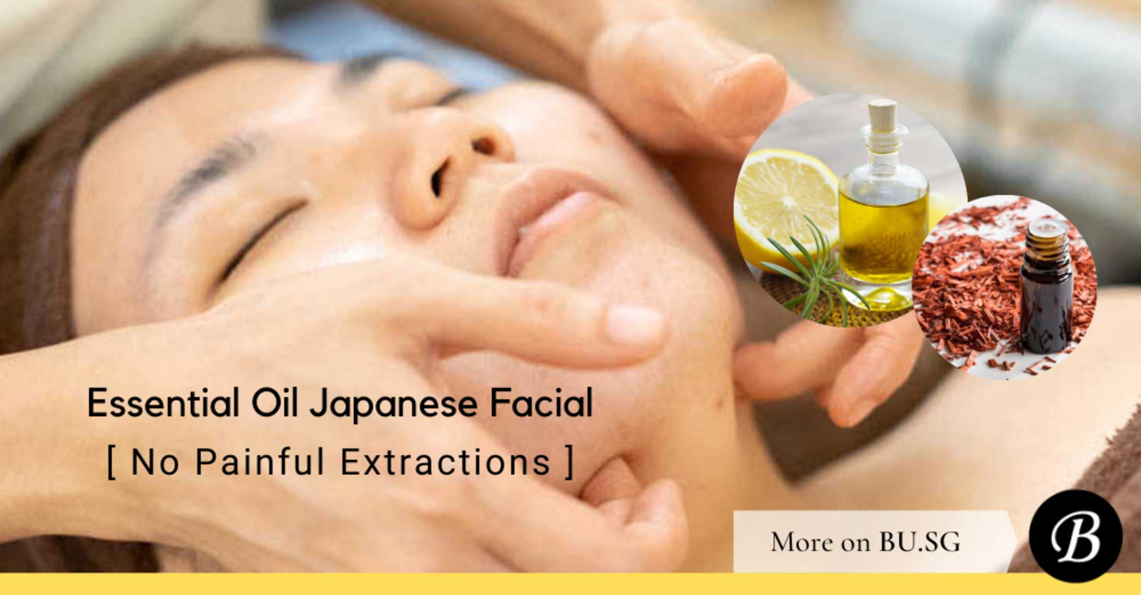 Face Plus by Yamano Uses These 6 Essential Oils to Successfully Alleviate Acne in their No-Extraction Facial. Guess what they are?