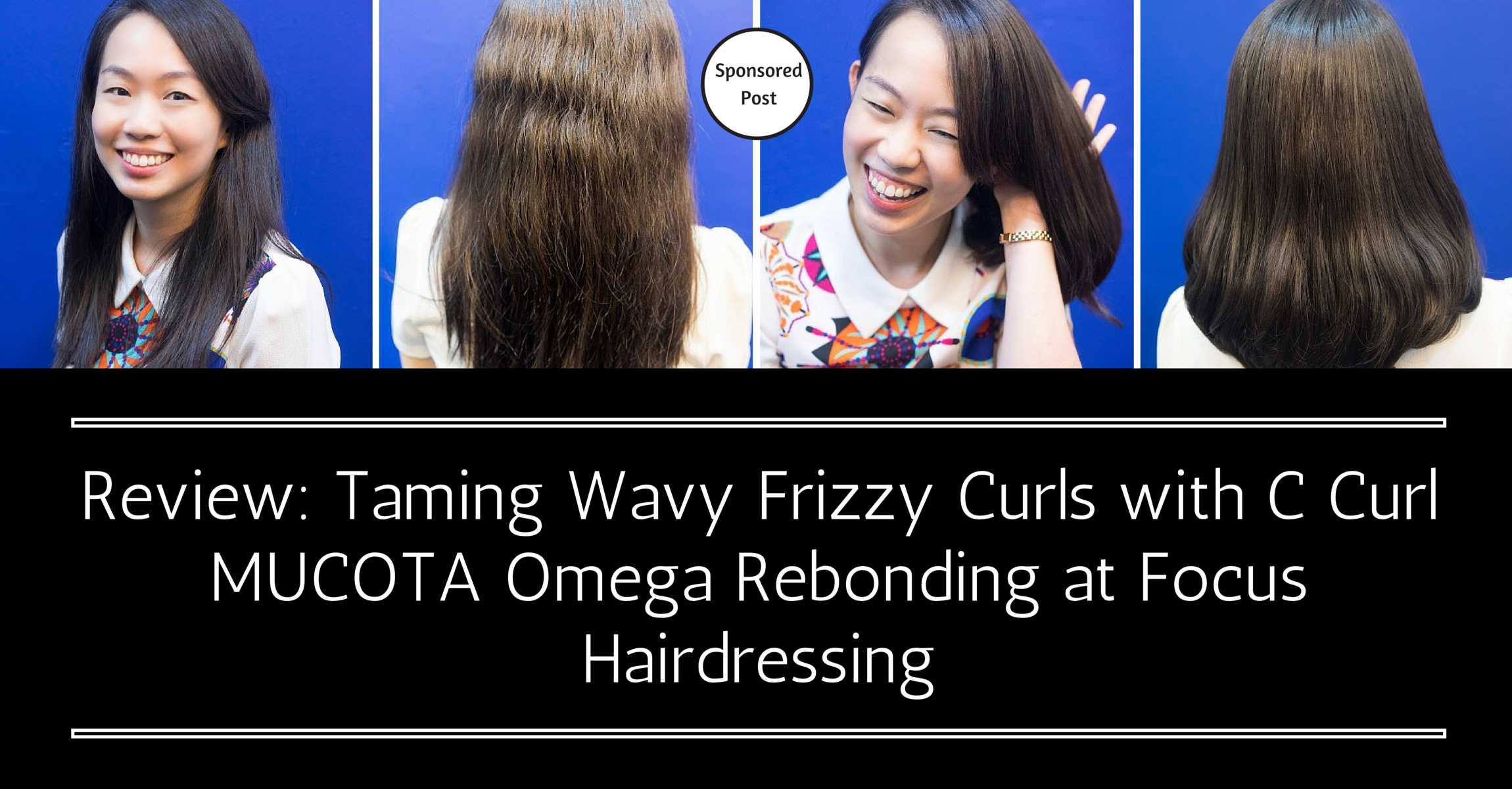 Taming Wavy Frizzy Curls with C Curl MUCOTA Omega Rebonding at Focus Hairdressing
