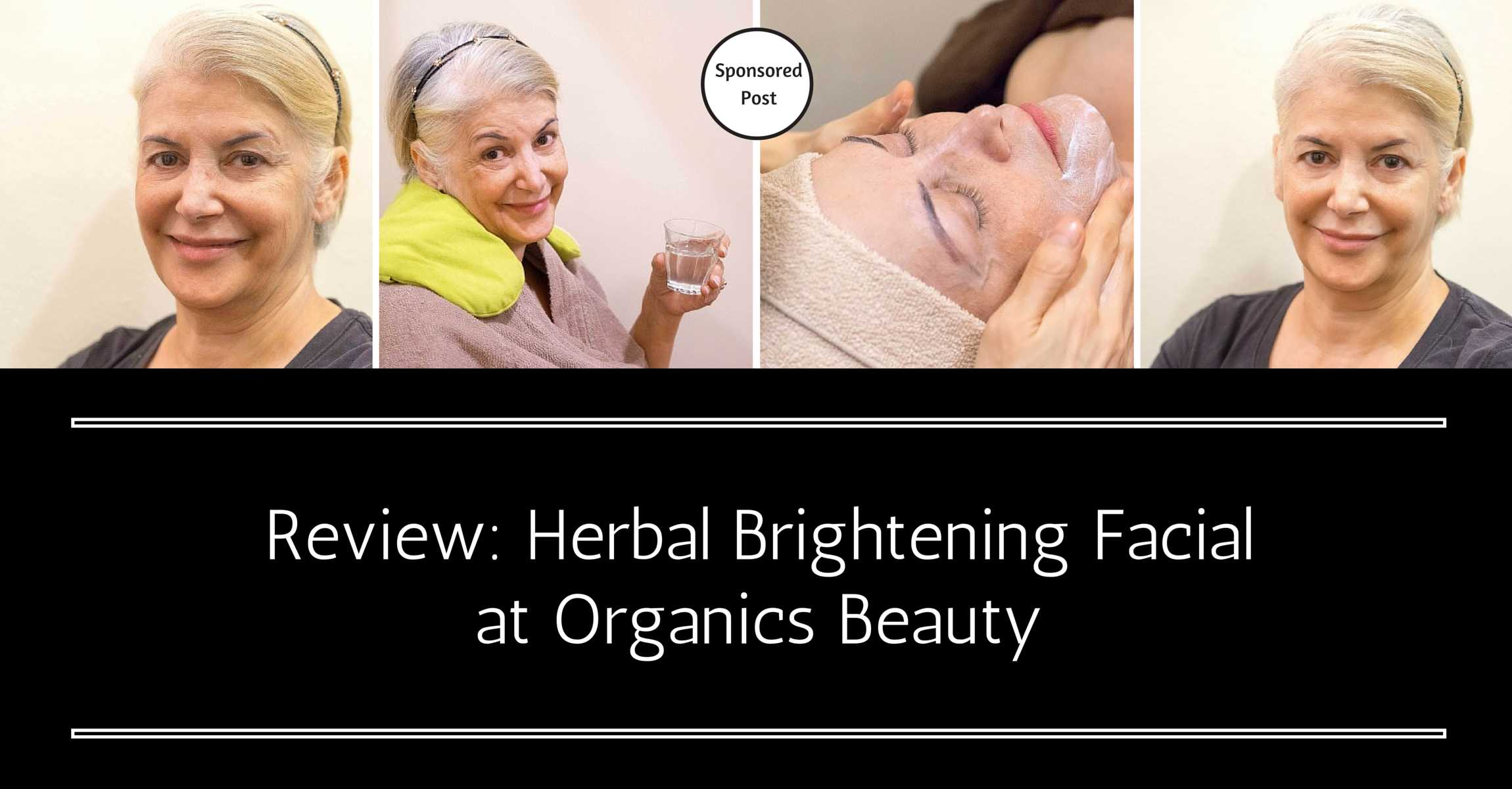 The Most Unique Organic Facial You've Never Seen or Experienced Before: Herbal Brightening at Japanese Salon Organics Facial