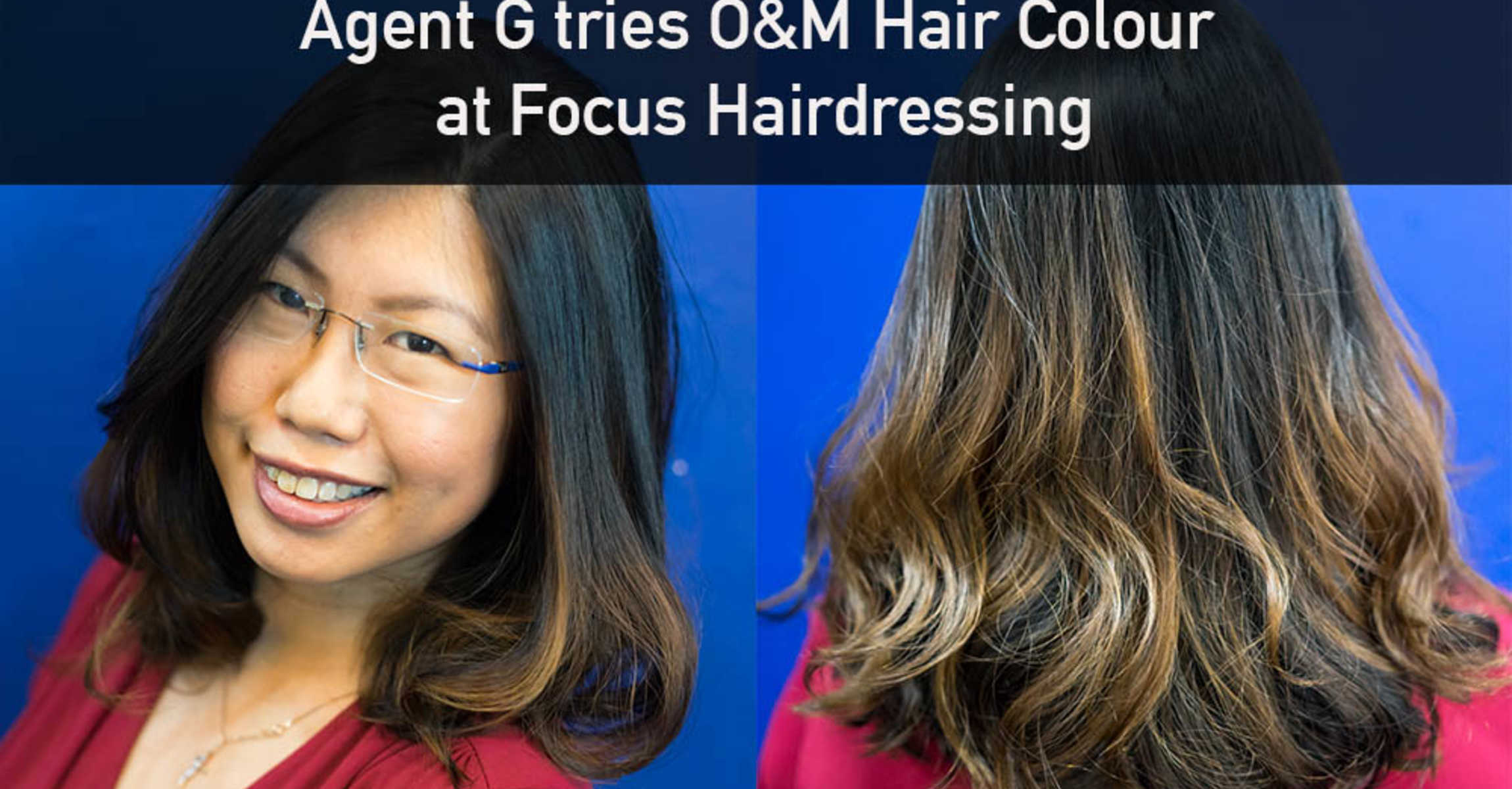 Agent G tries Original & Minerals Hair Colour at Focus Hairdressing!
