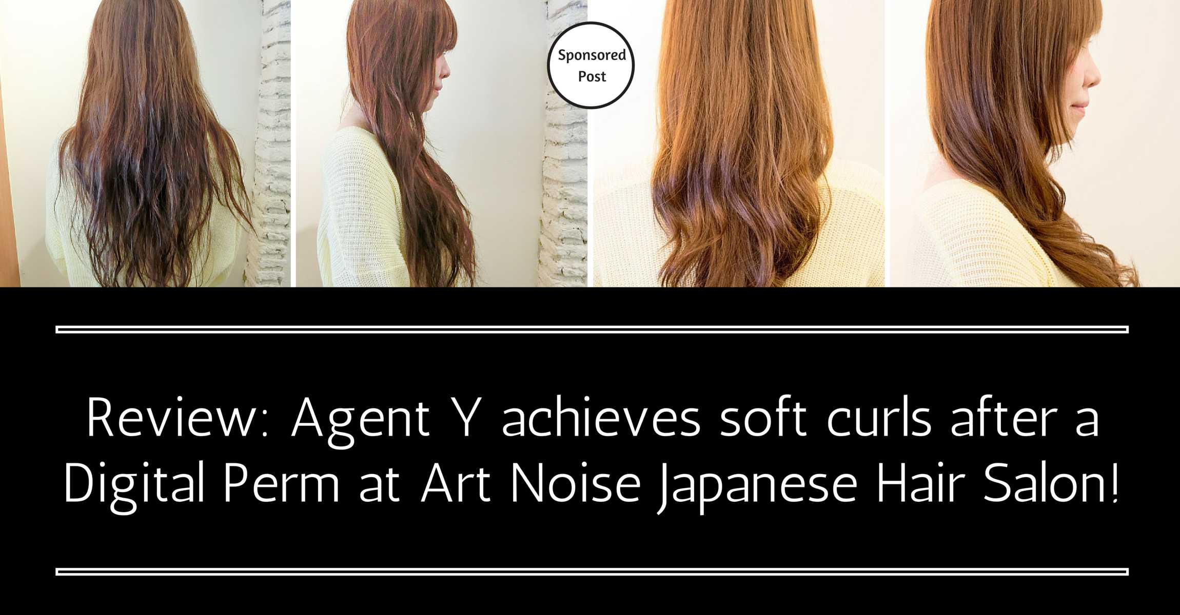 Love those bouncy curls you see in Japanese magazines? Agent Y achieved those soft curls after a Digital Perm at Art Noise Japanese Hair Salon!