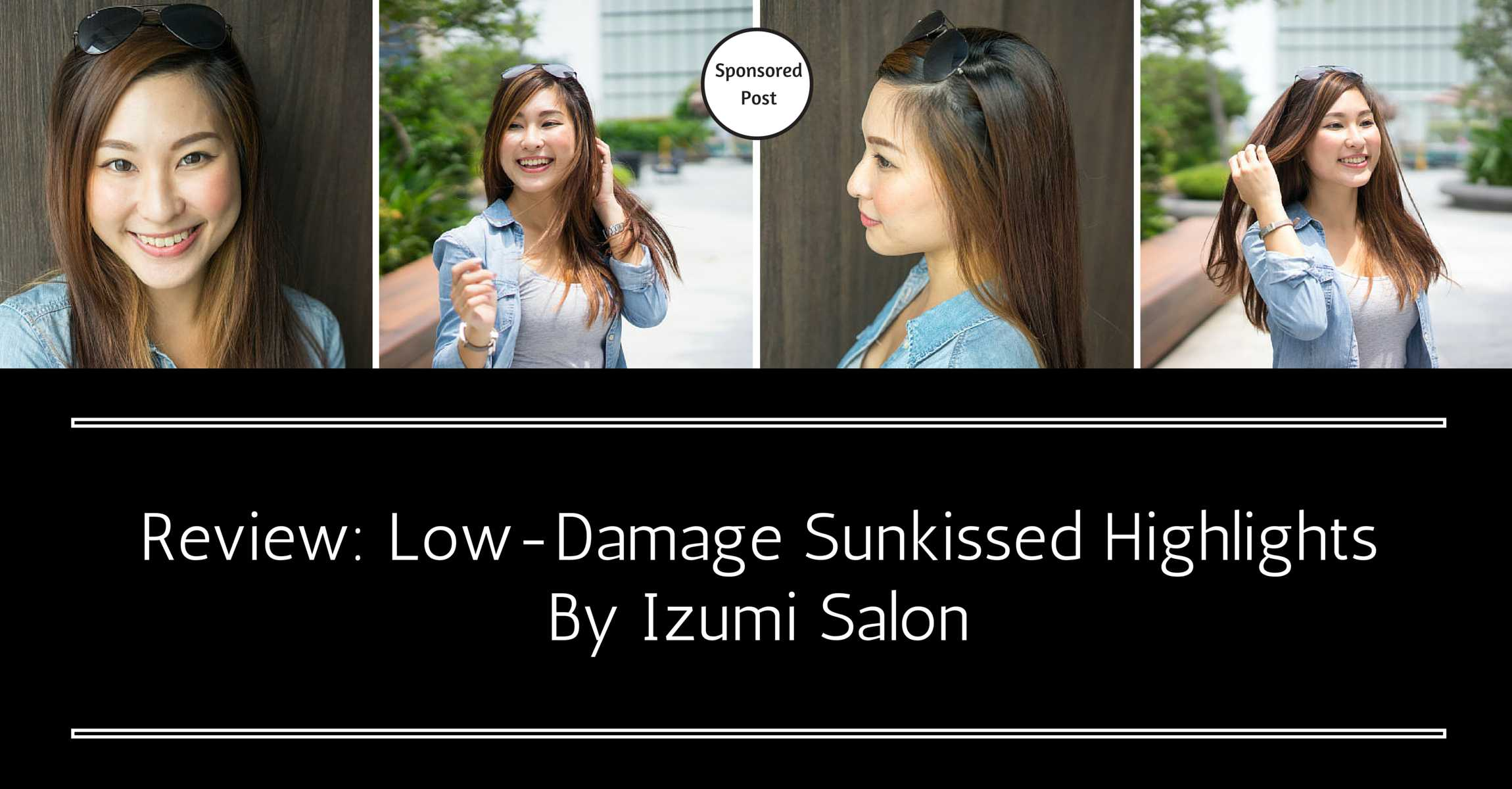 Complete Your Sporty Chic Look with Low-Damage Sunkissed Highlights by Izumi Salon