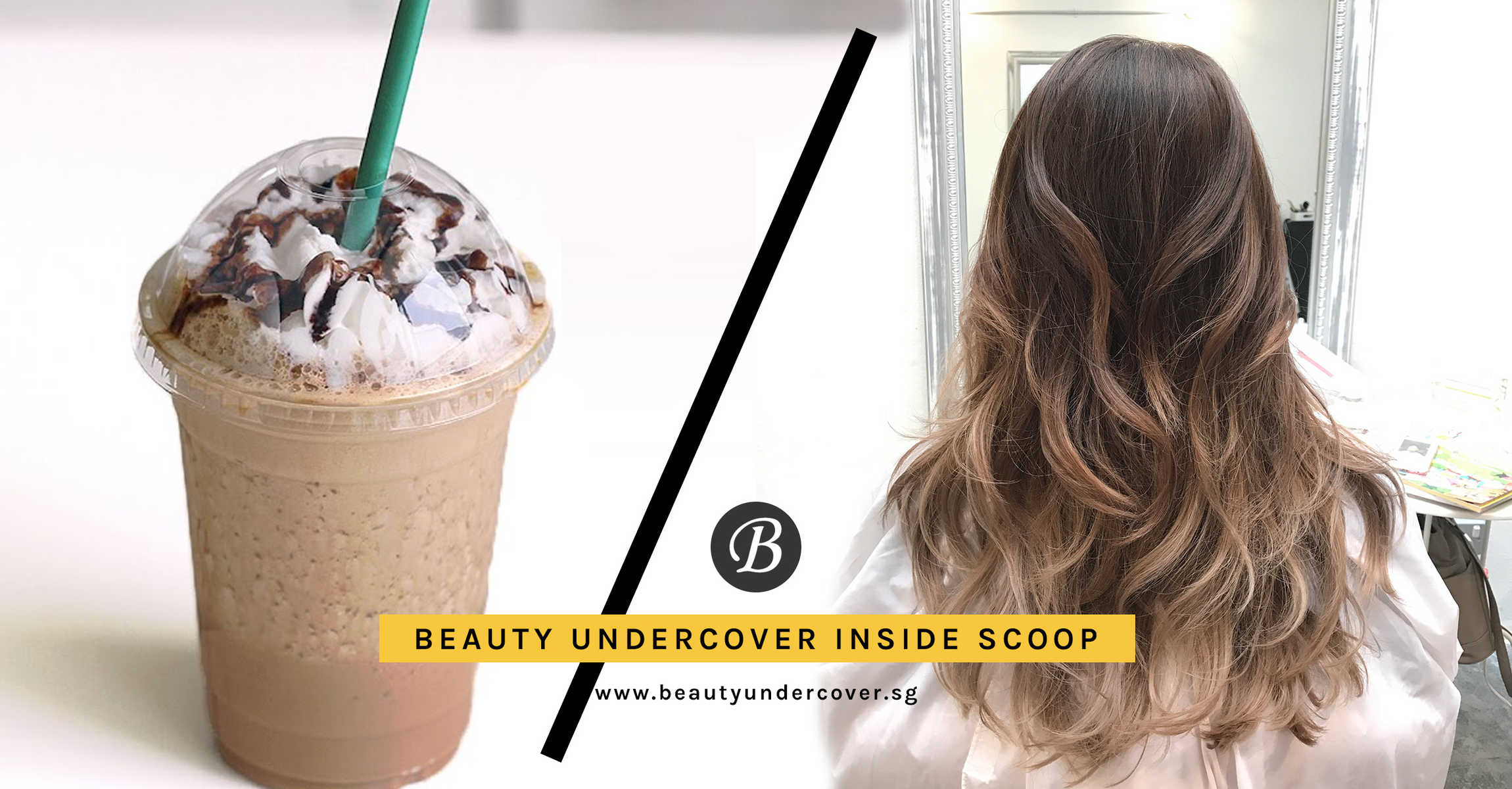 Agent HG Goes for Frappucino Hair at Flamingo Hair Studio