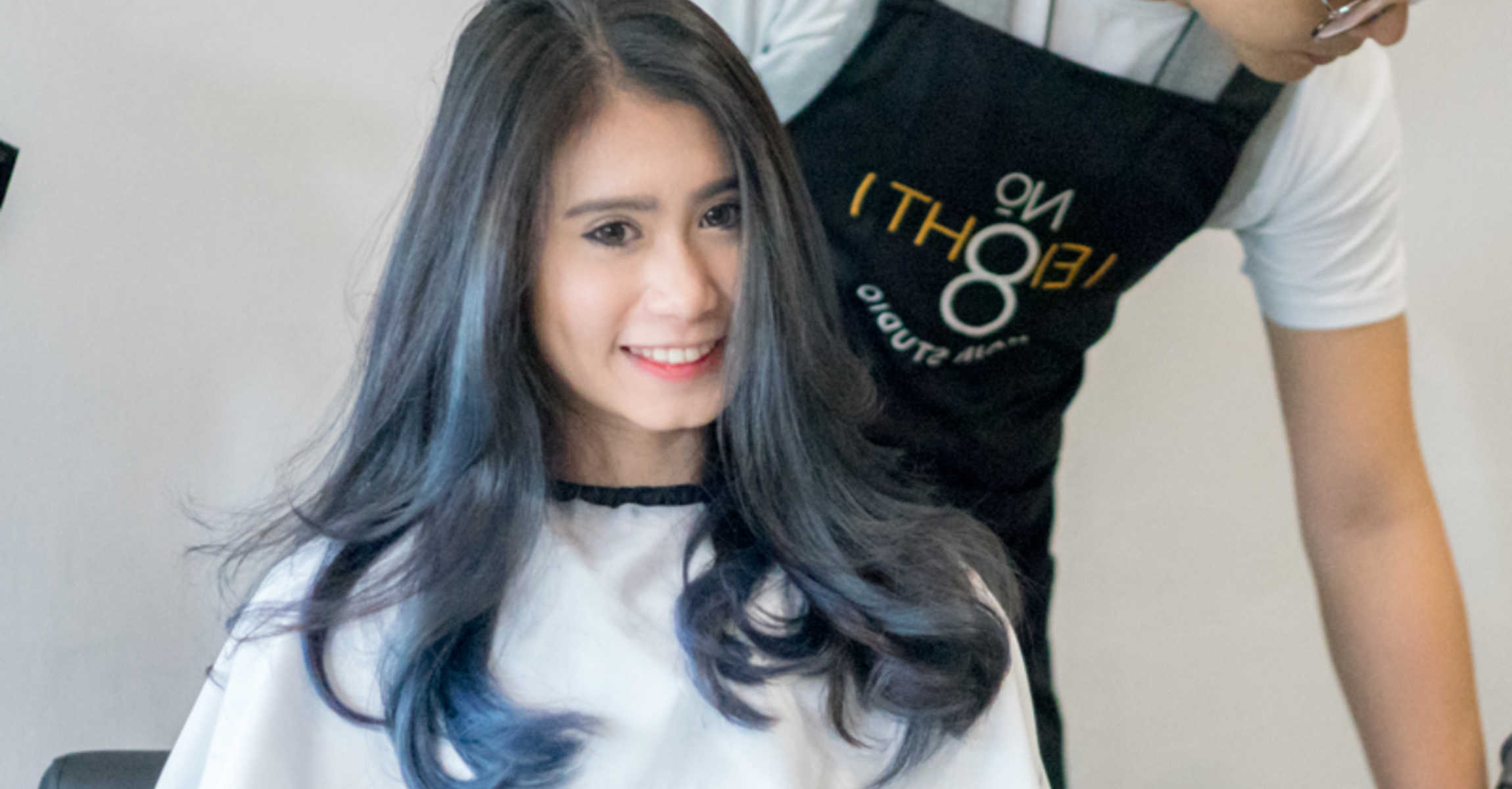 Blue Balayage Ombre: The Perfect Hair Colour to Start School With