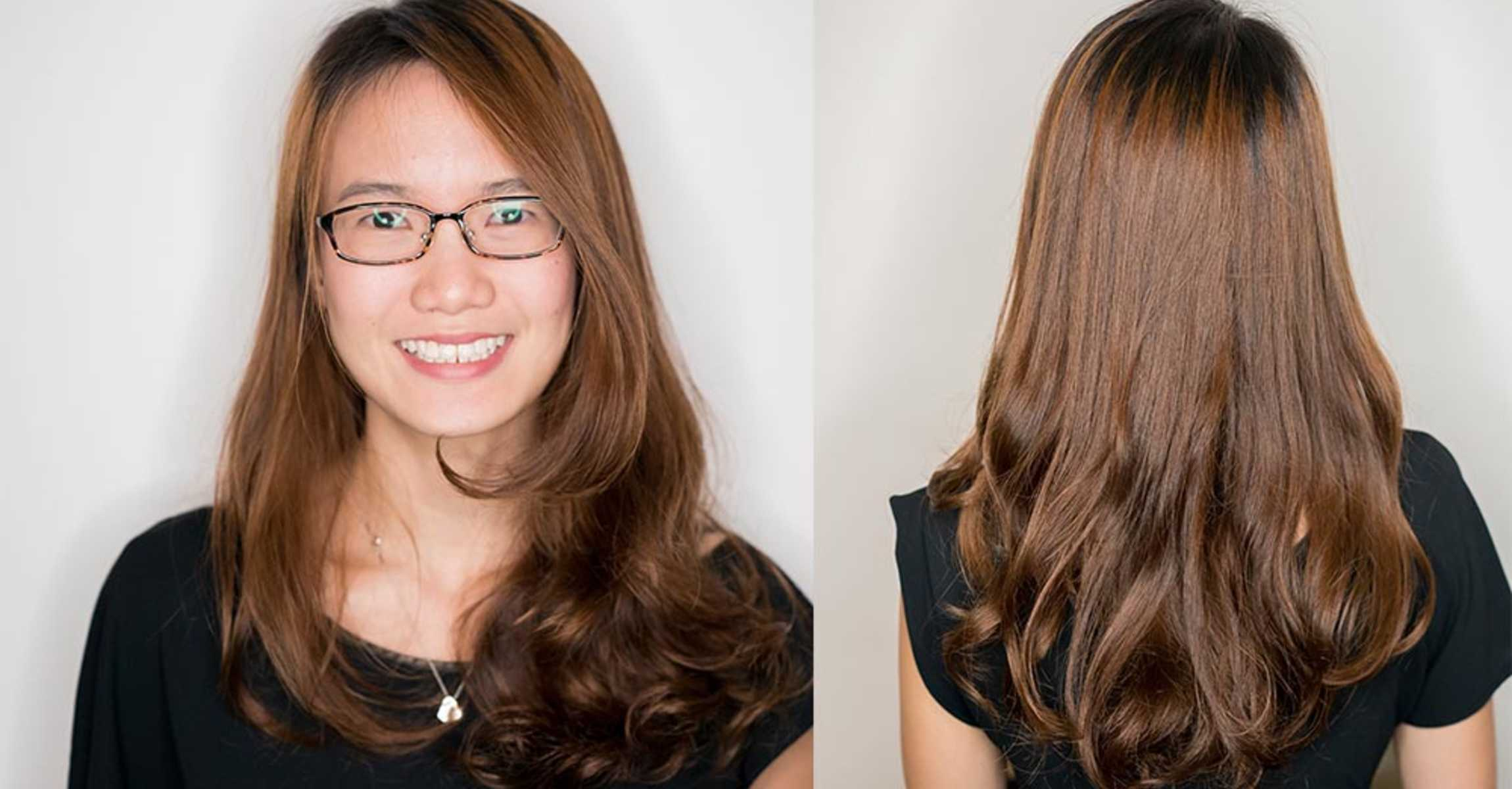 Ready for a Makeover After Your Wedding? This Business Analyst Looked A Lot More Refreshed After A Makeover Cut and Colour by Kenaris Salon
