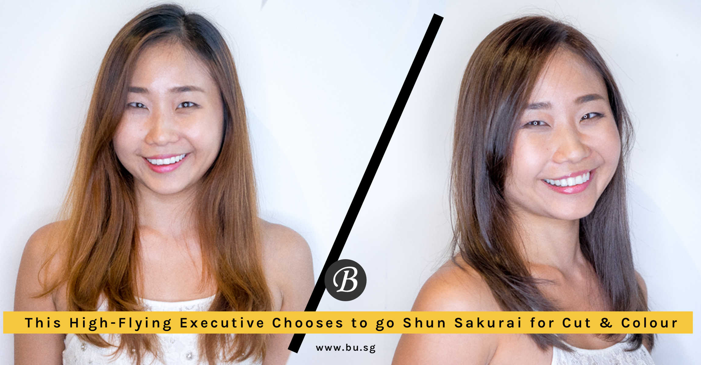 High Flying Executive Agent KM Chooses Shun Sakurai For Her Cut and Colour. Here's Why!