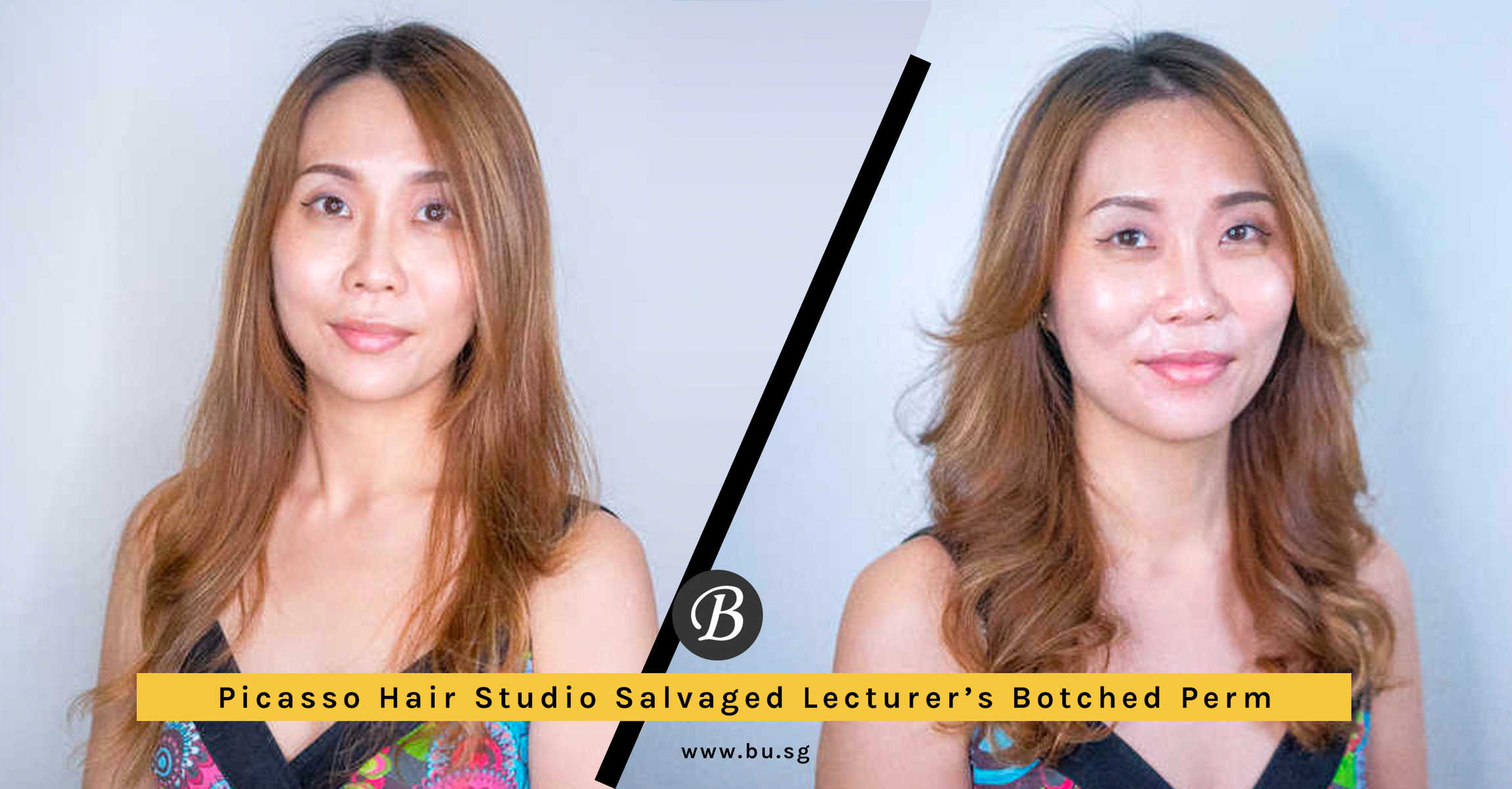 Picasso Hair Studio Fixed University Lecturer Y's Botched Perm with the Newest Paimore GRATS
