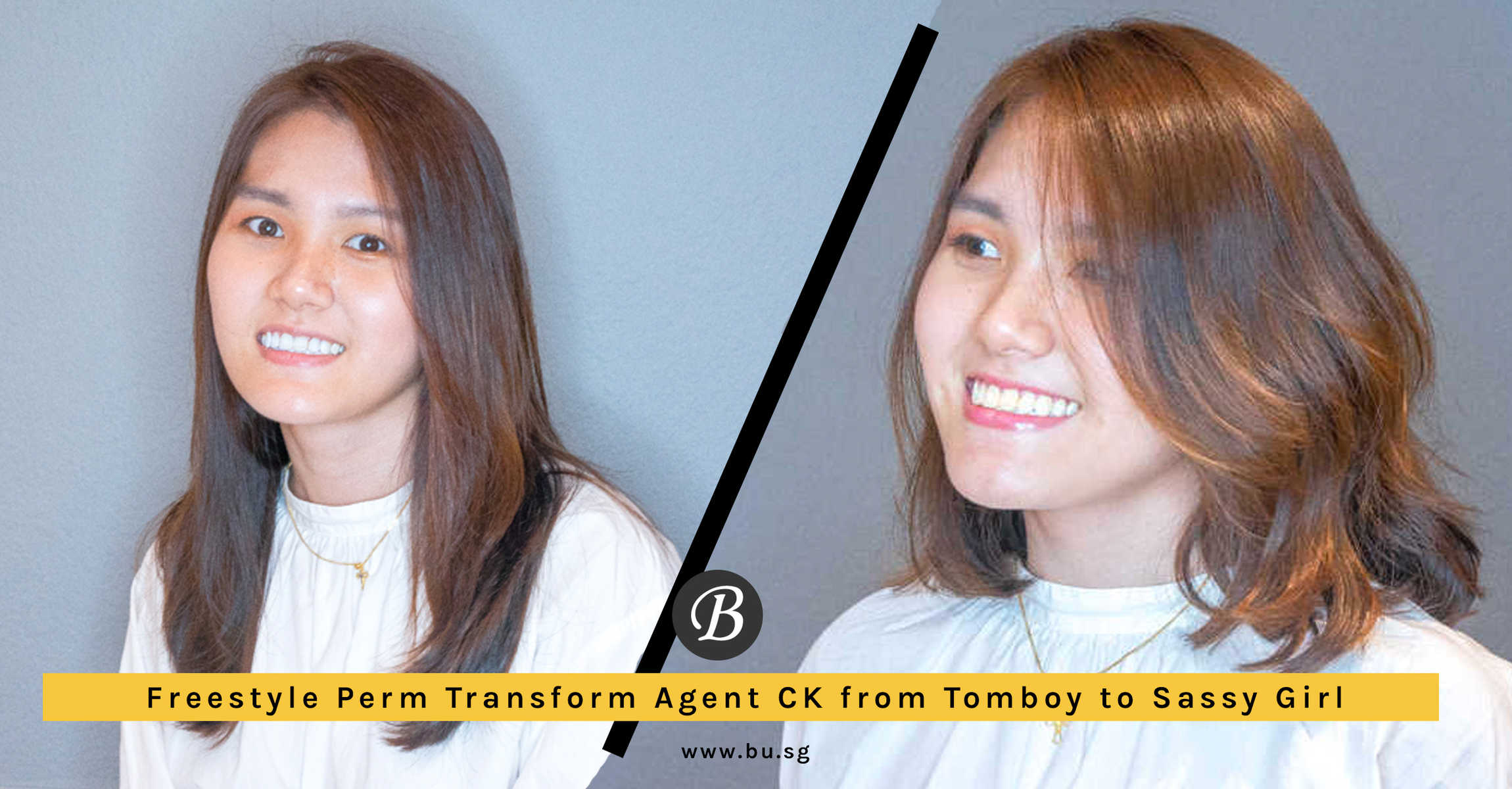 The Freestyle Perm Transformed Agent CK from Tomboy to Fun and Sassy Girl