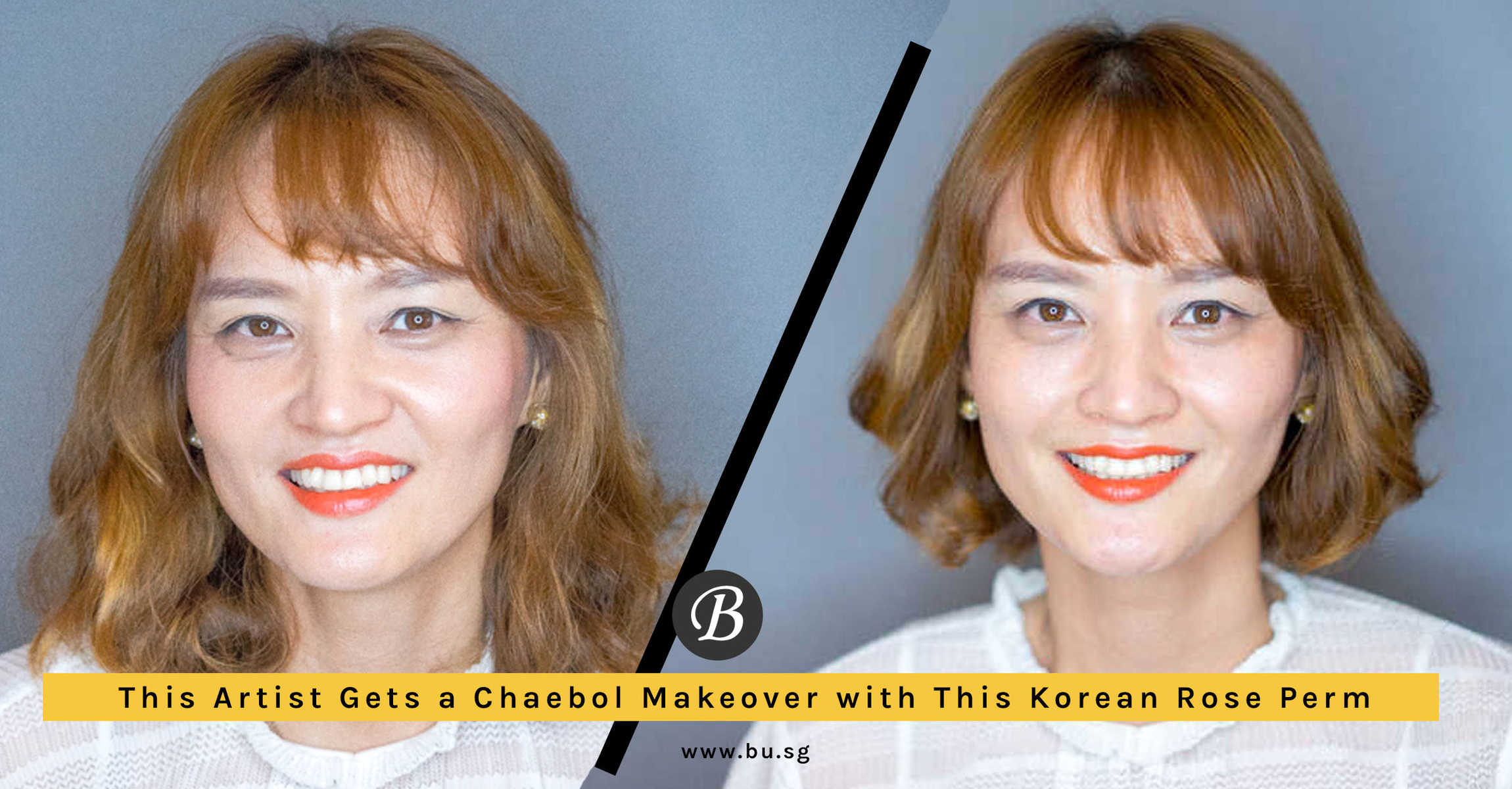 This Artist Goes to Koinonia Salon for a Rose-Inspired Perm