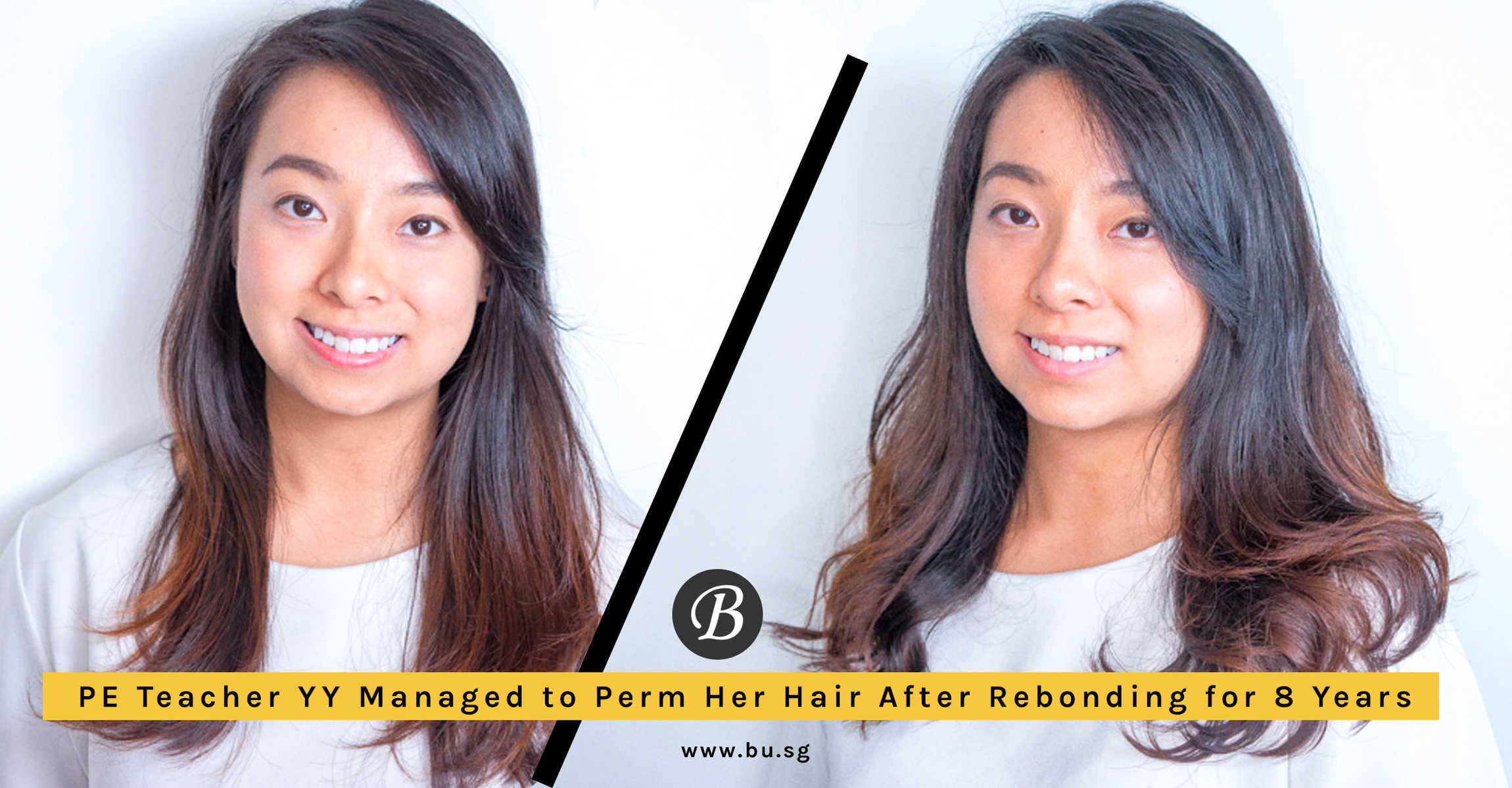 PE Teacher YY Finally Managed to Perm Her Hair with Paimore GRATS After Rebonding for 8 Years