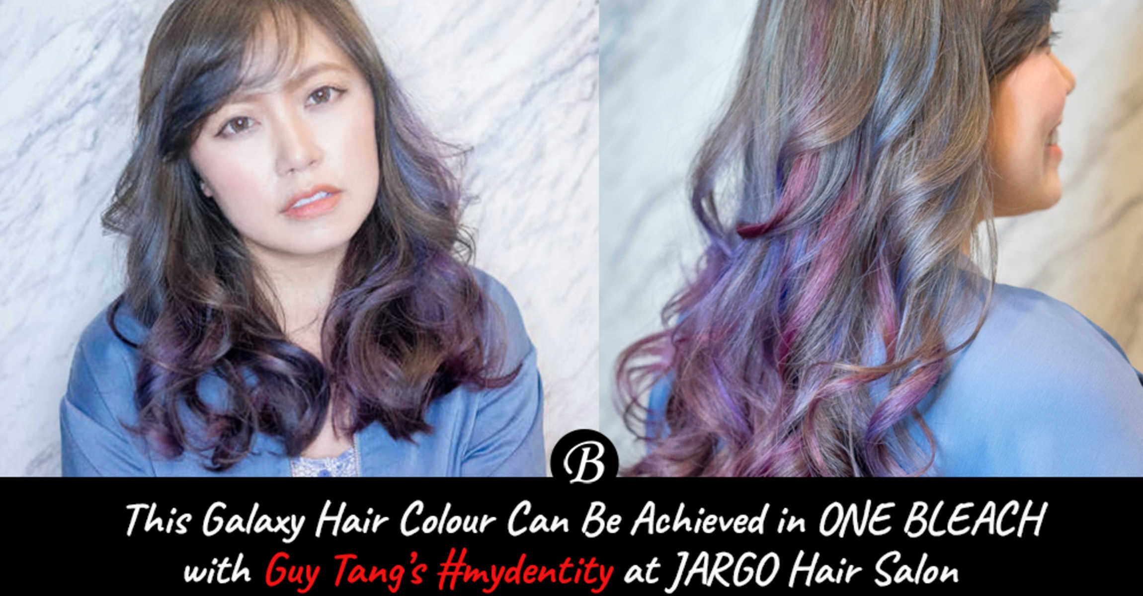 You Can Now Have Galaxy Hair in Just ONE Bleach with Guy Tang Mydentity at Hair Illustrated