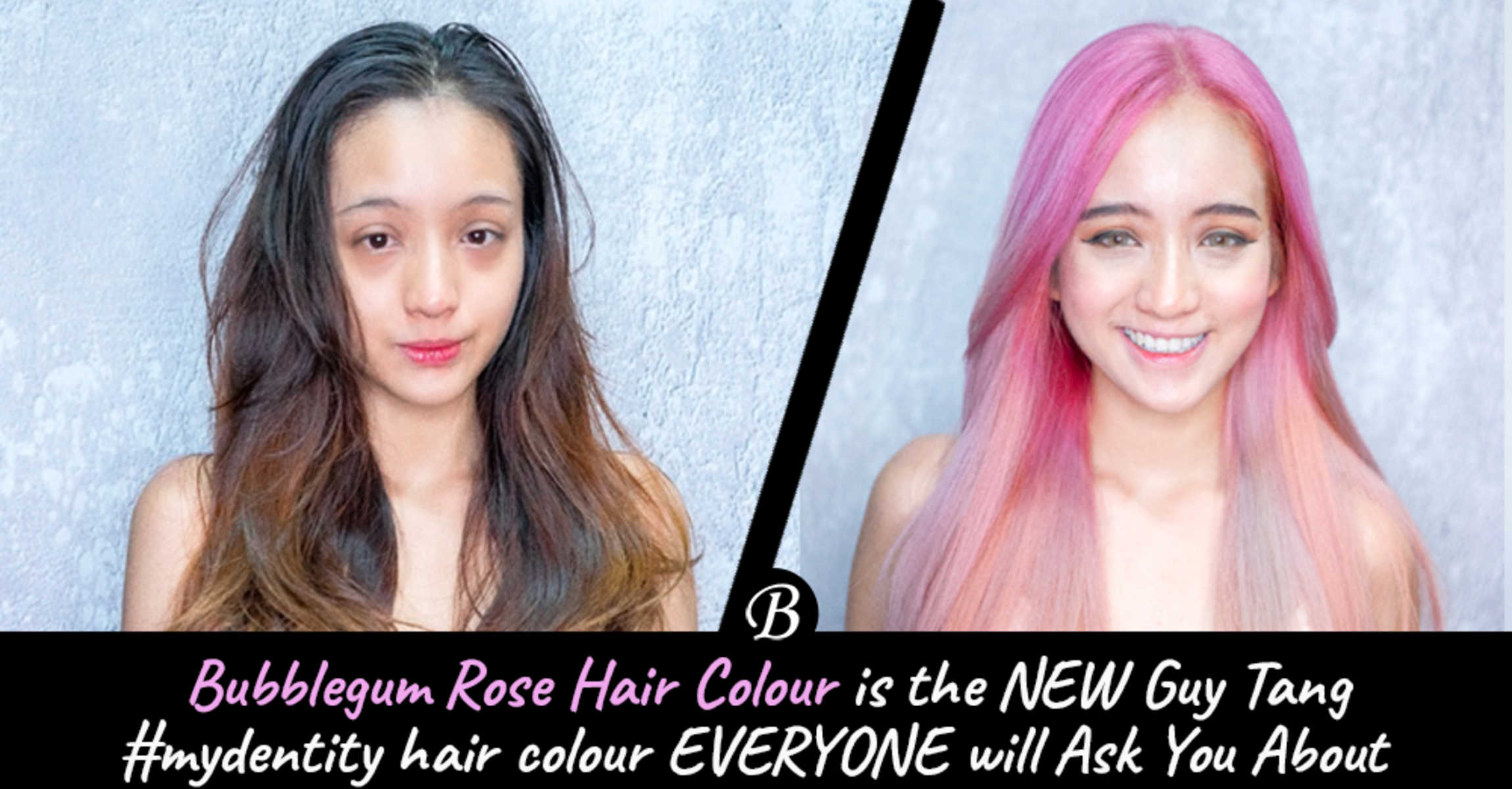 Bubblegum Rose Hair is the Gorgeous New #mydentity hair colour Everyone Will Ask You About