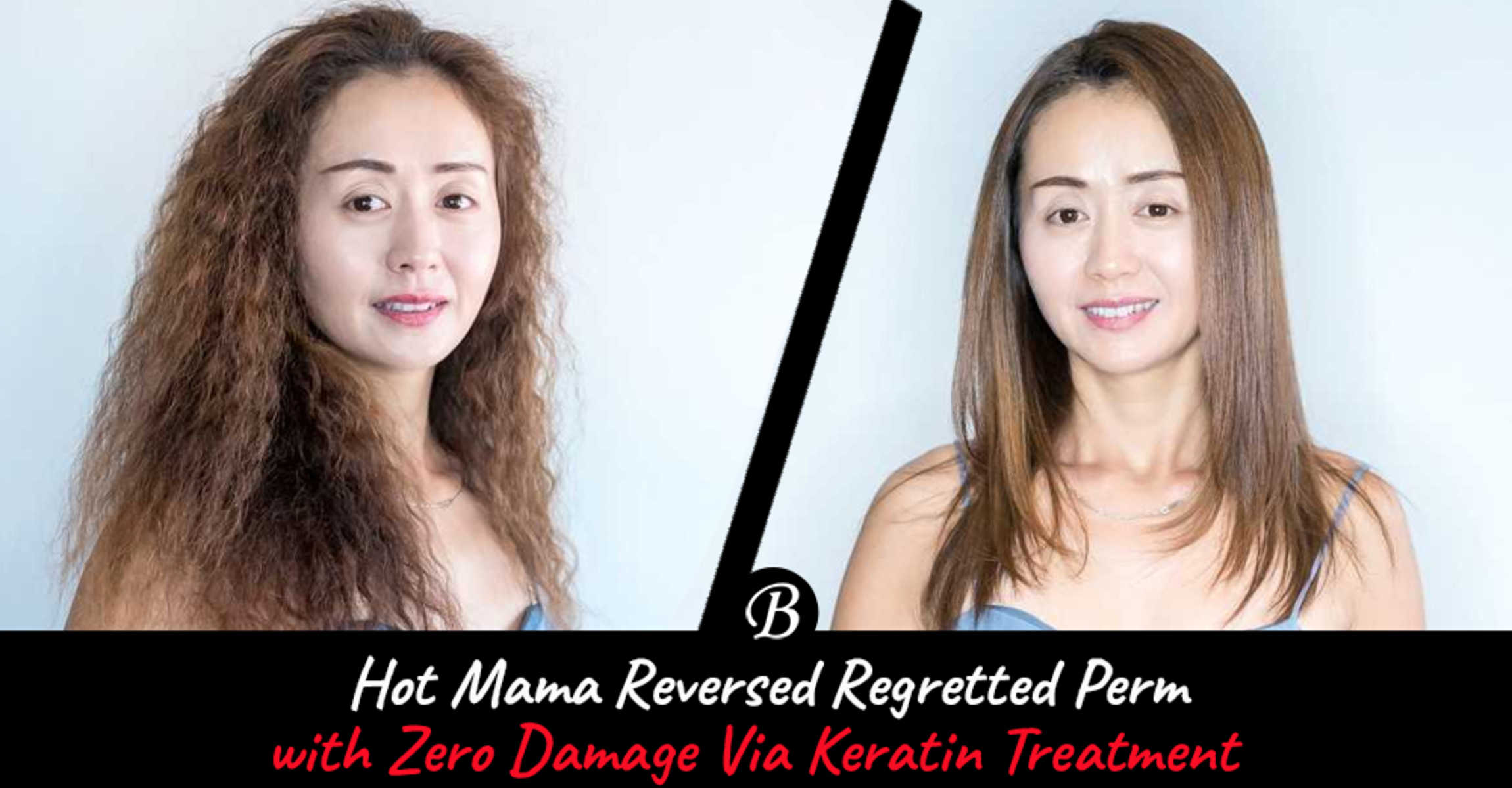 This Keratin Treatment Gave Hot Mama JZ Straight Hair After Regretting Perming Her Hair