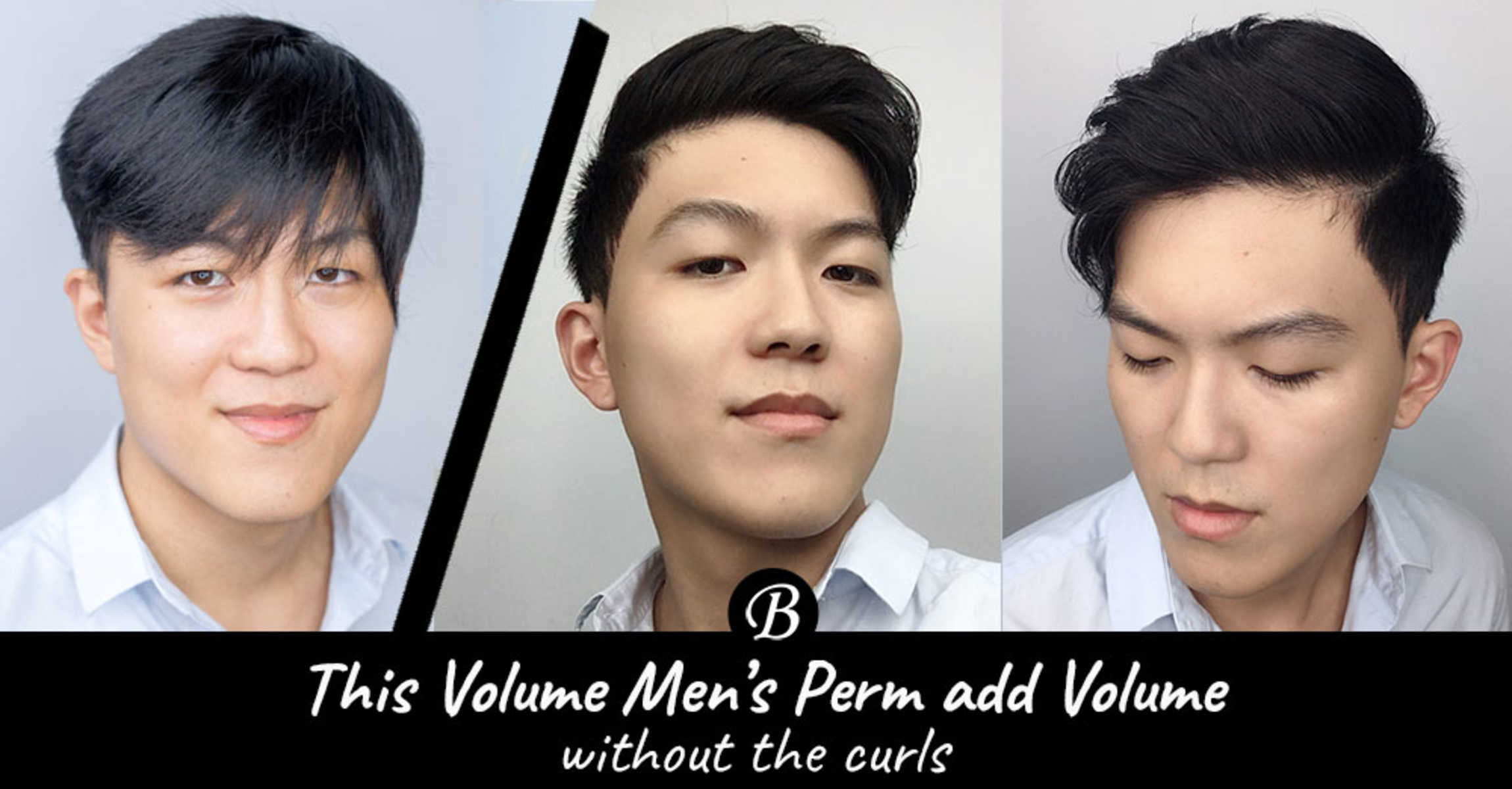 Men's Volume Perm at Pro Trim Adds Volume Without the Curls