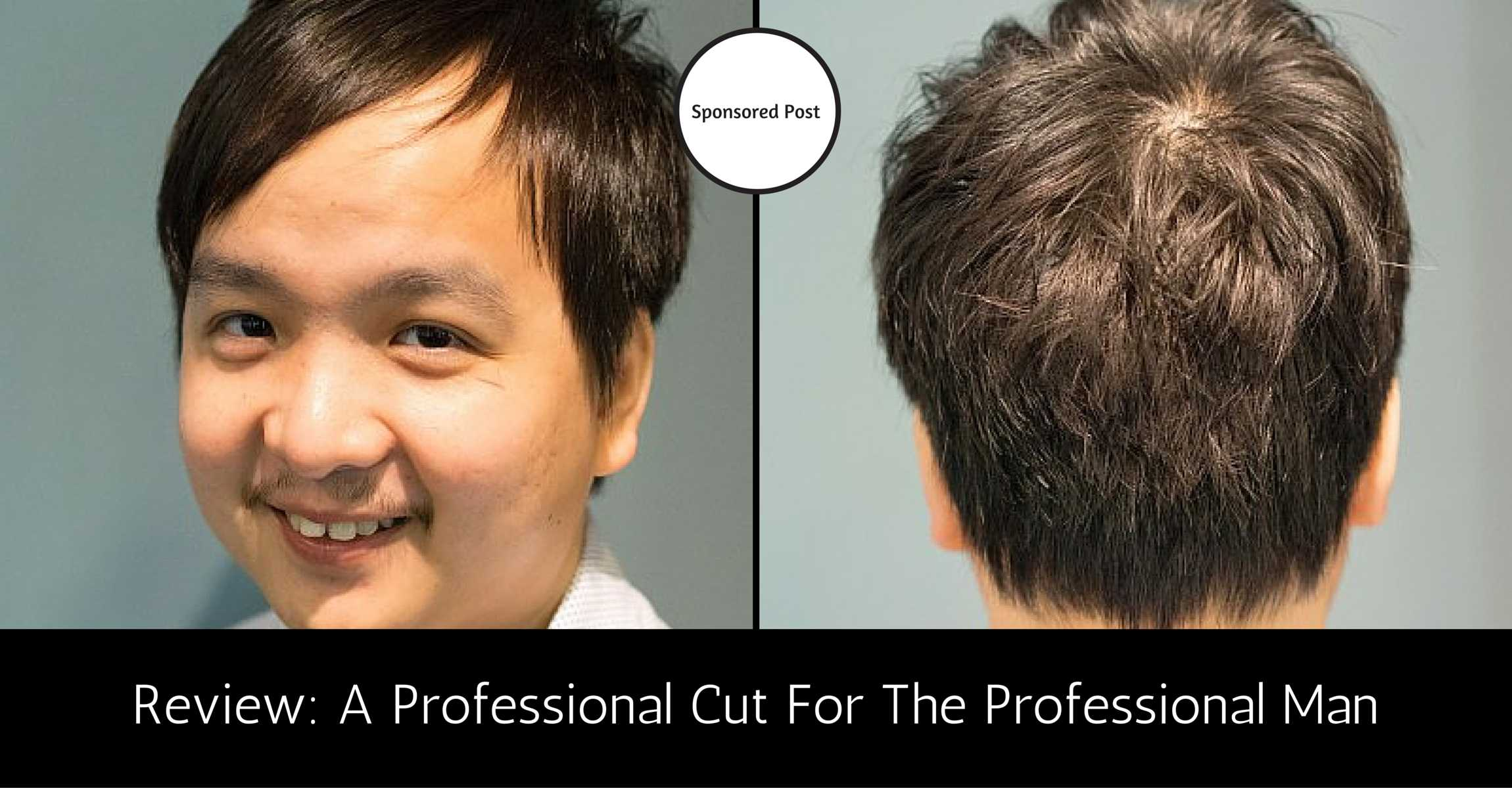 Professional Men's Haircut to Project Professionalism at Work