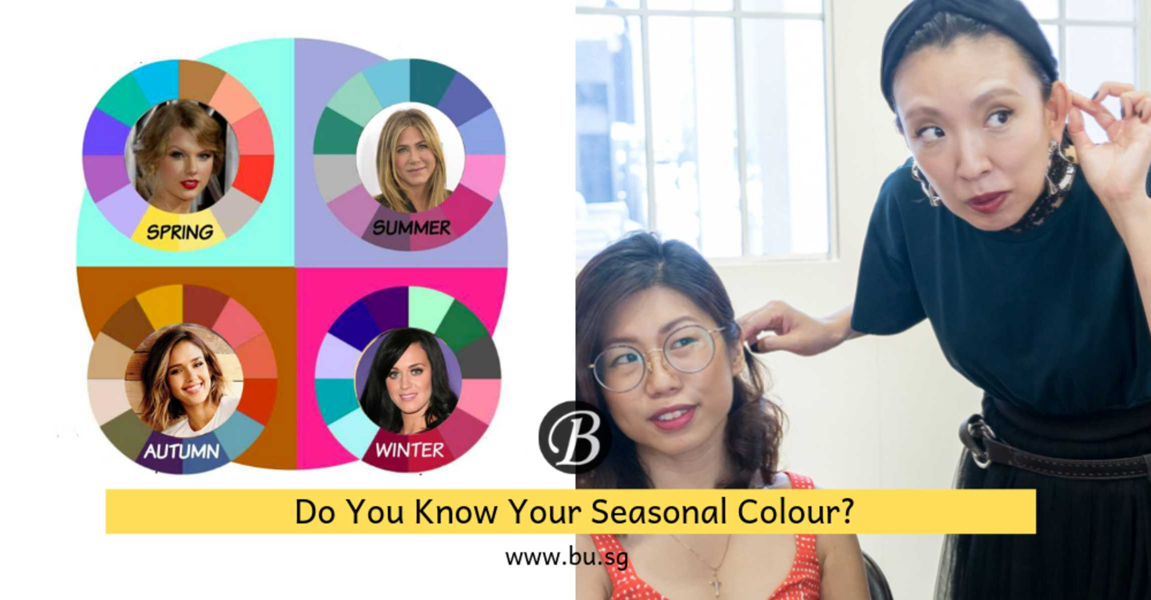 What is Your Seasonal Colour? This Japanese Colourist Reveals What Your Seasonal Colour is in a Personal Colour Consultation along with your hair colour for free!
