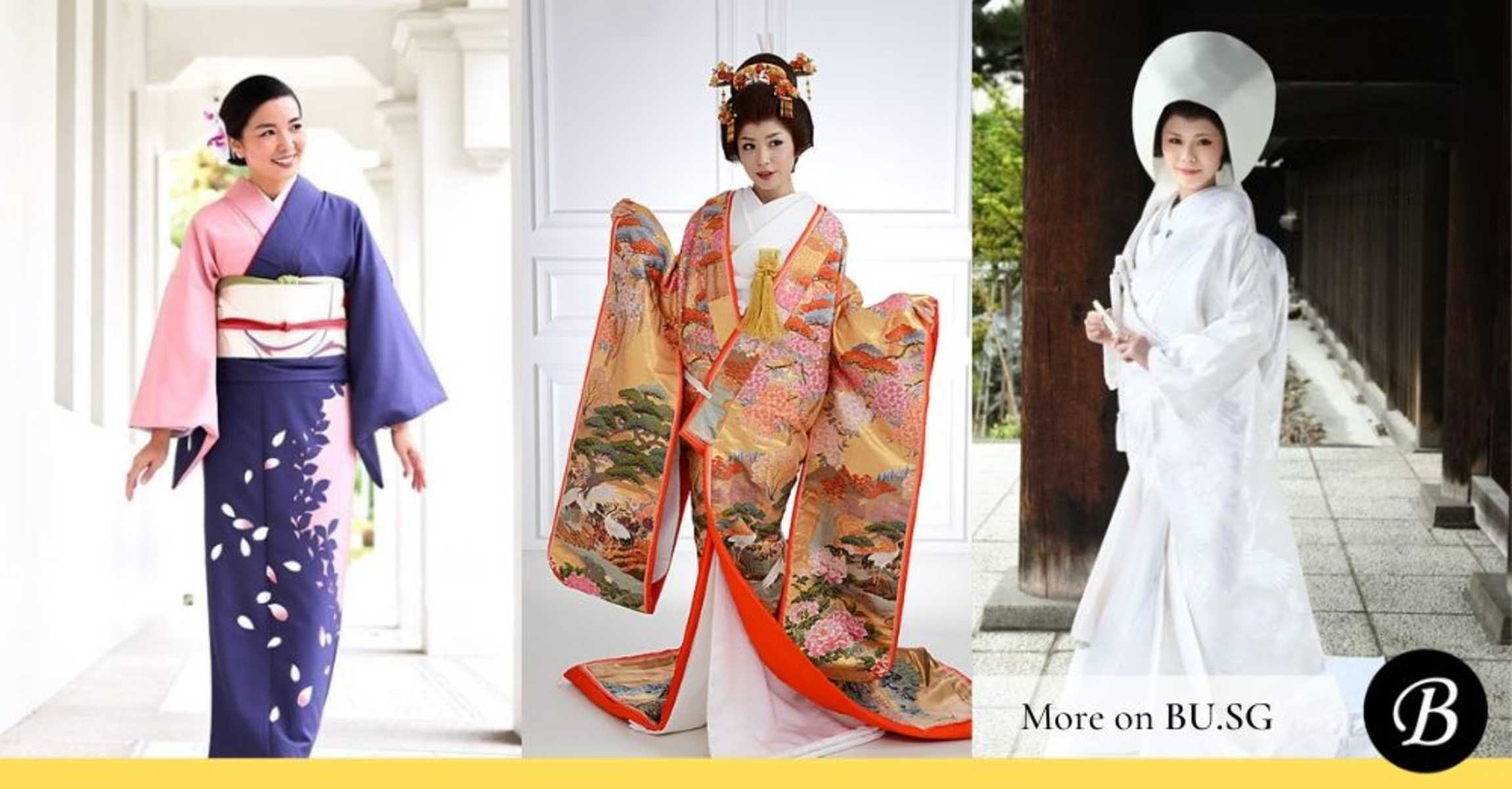 11 Different Types of Kimonos and Which You Can Actually Wear in Singapore