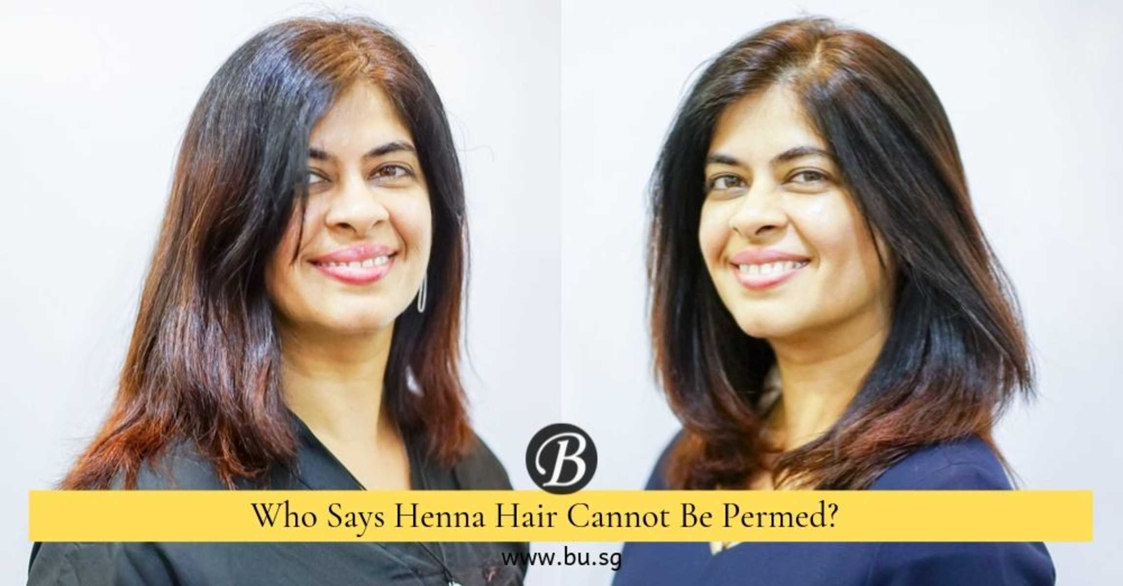 This Salon Does Gorgeous Blowout Perm Even For Hair Treated With Henna!