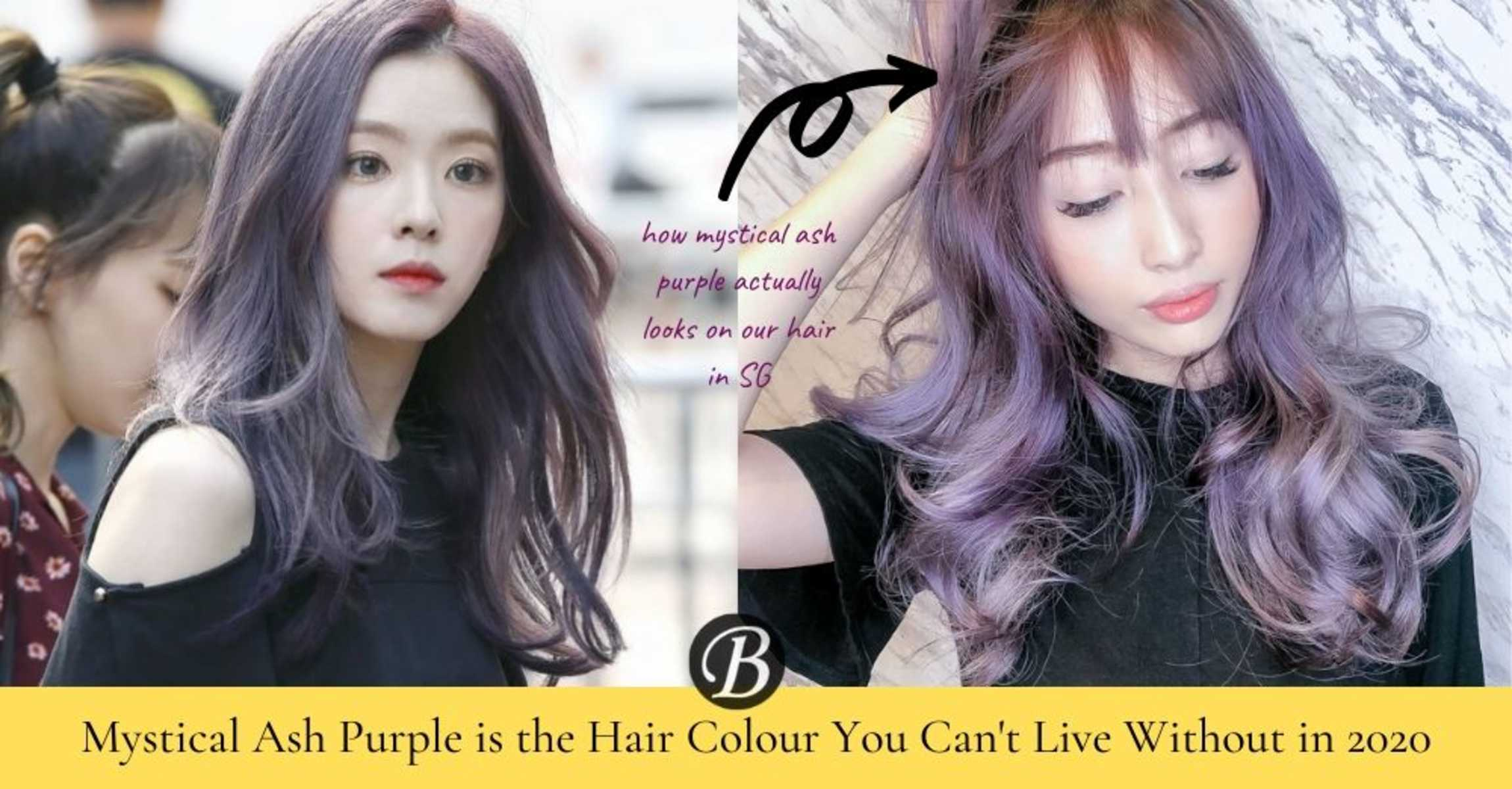 6 Reasons Why Mystical Ash Purple is the Bright Hair Colour Trending in 2020
