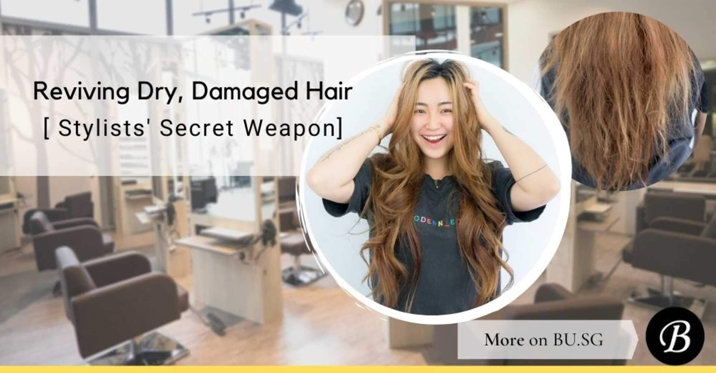 BBO is the Secret Weapon Stylists Use to Revive Ultra Damaged Hair.