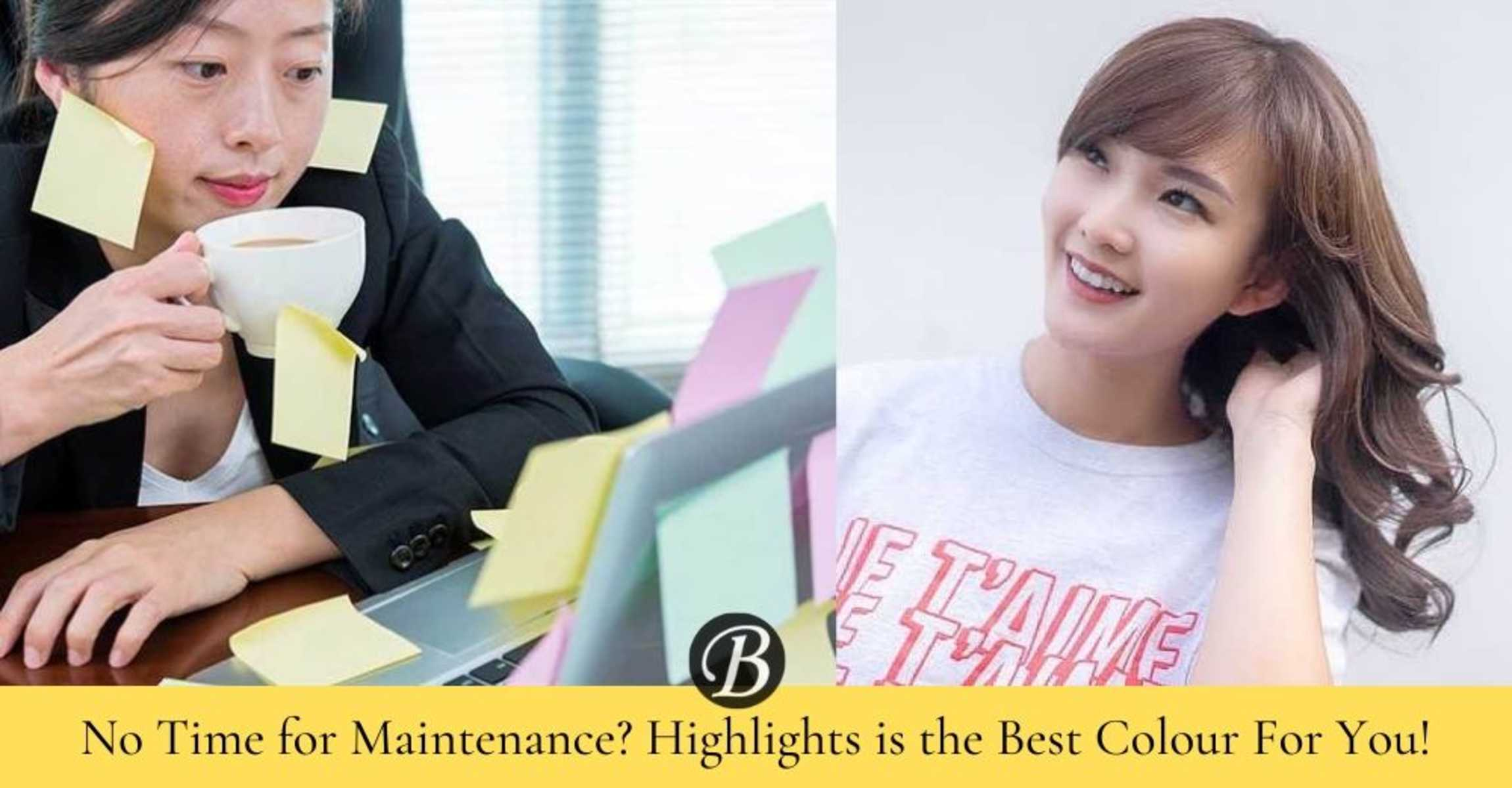 Highlights is the Best Chic Convenient Hair Colour for Busy Women