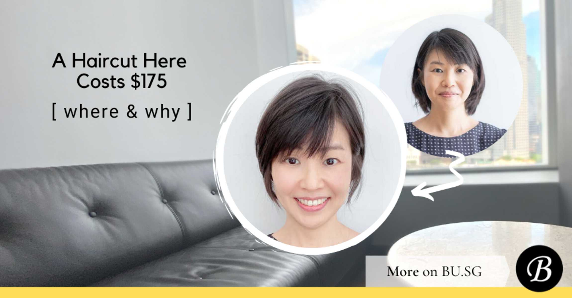 $175 Gets You One of the Best Haircuts in Singapore. Find out what it entails.