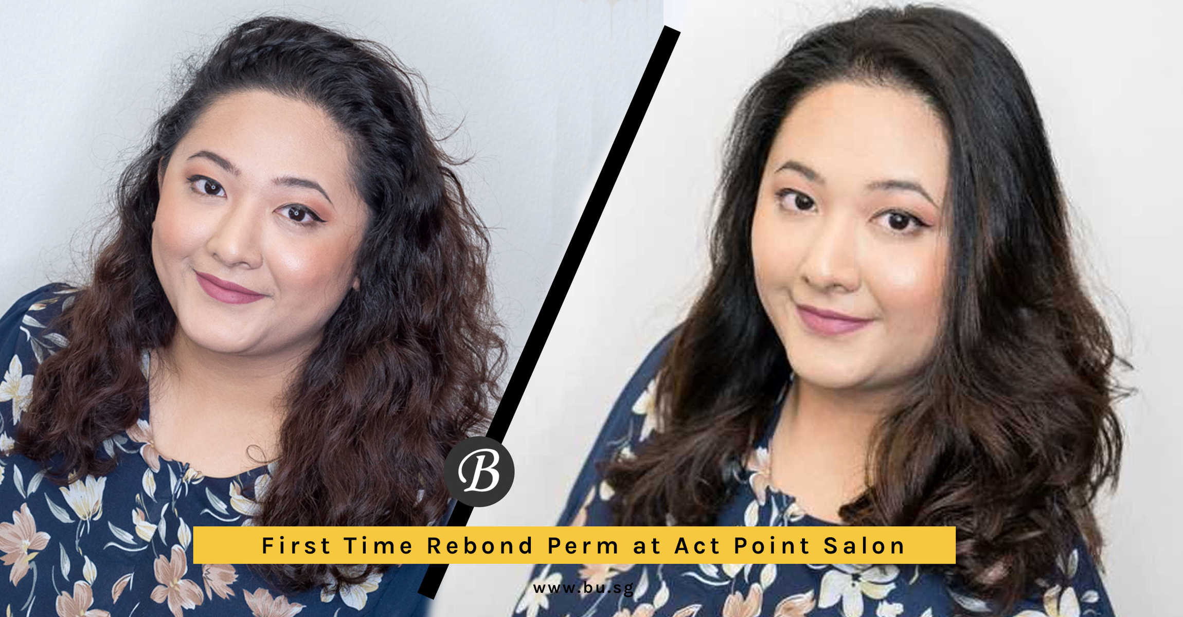 Agent SK Did Rebond Perm for The First Time for Hari Raya at Act Point Salon