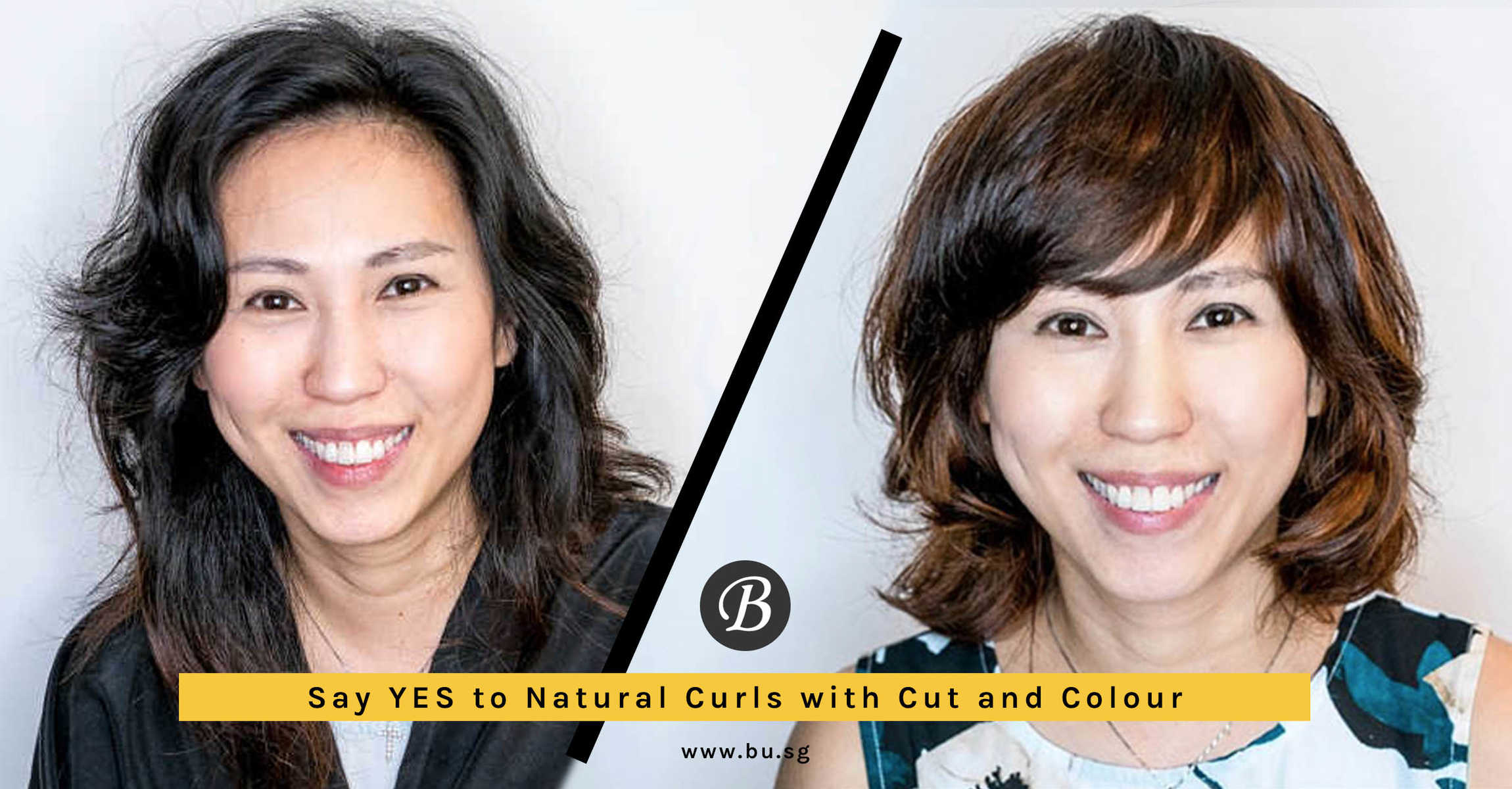 Who says curly hair must be straightened? This Japanese Stylist Gives Curly-Haired Agent PL a Professional Bob Haircut!