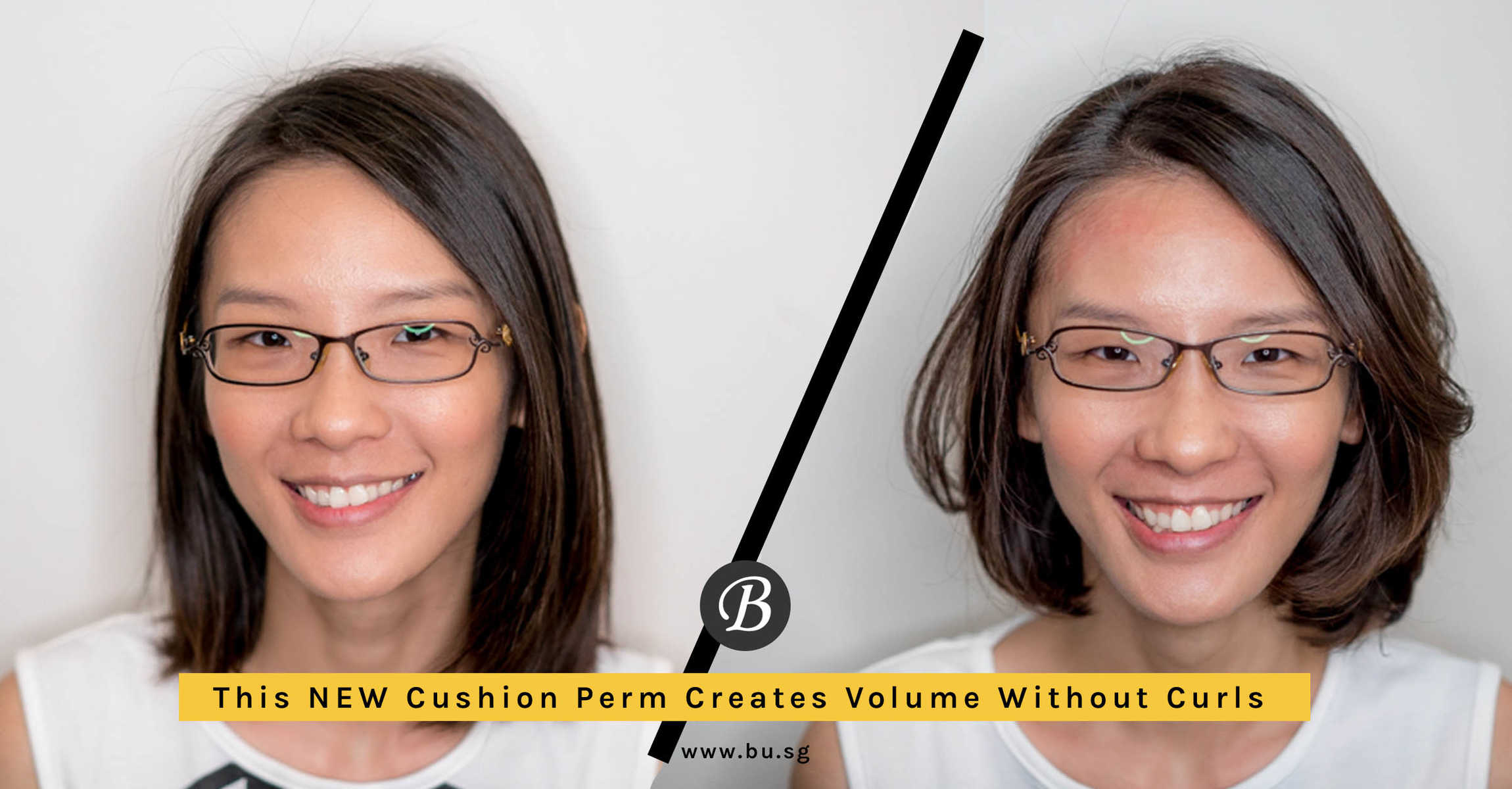 Want Volume Without the Curls? This New Cushion Perm Gives You Volume at the Roots and The Body Without Making Your Hair Curly