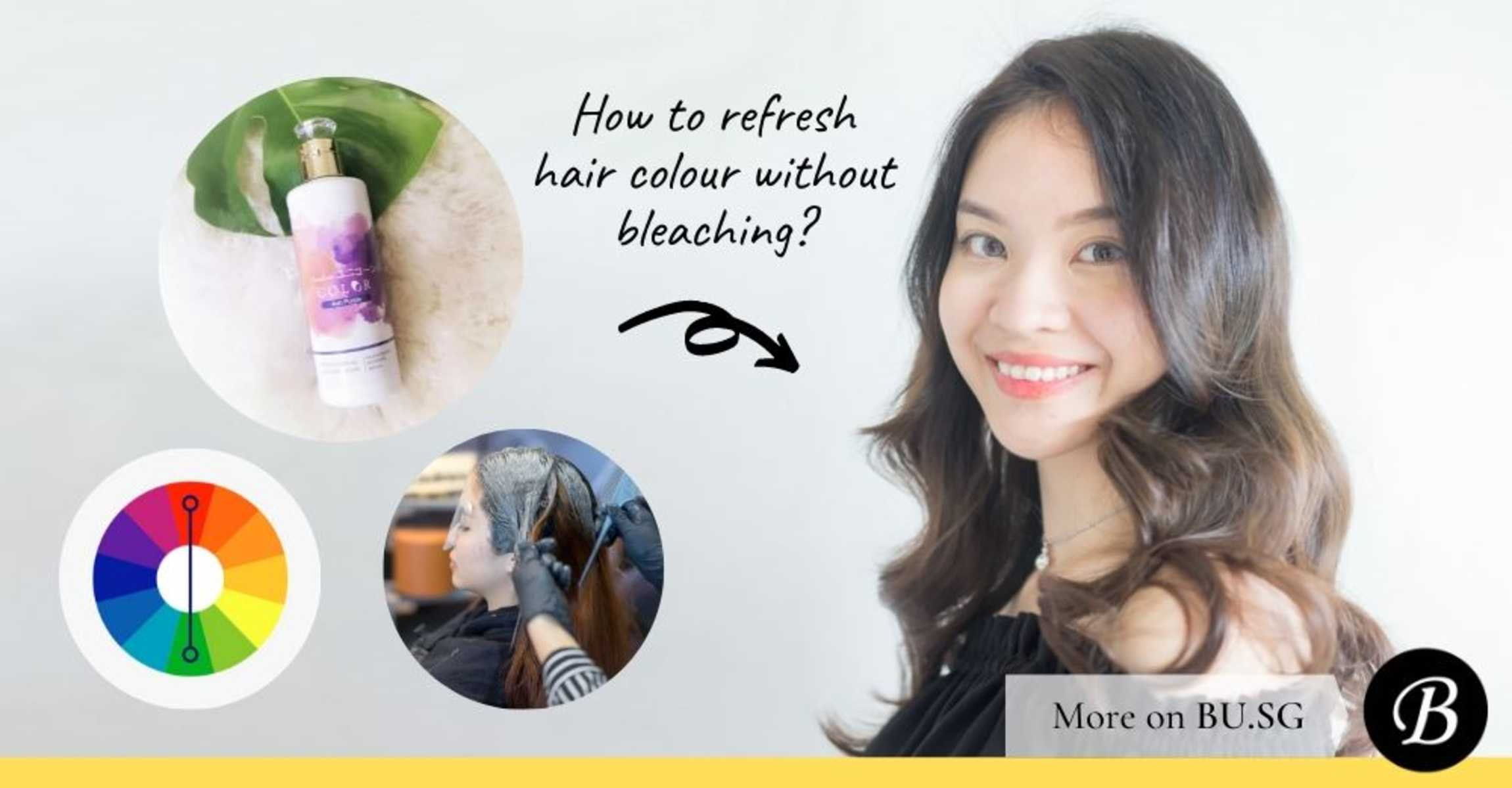 3 Ways to Refresh Faded Hair Colour Without Bleaching