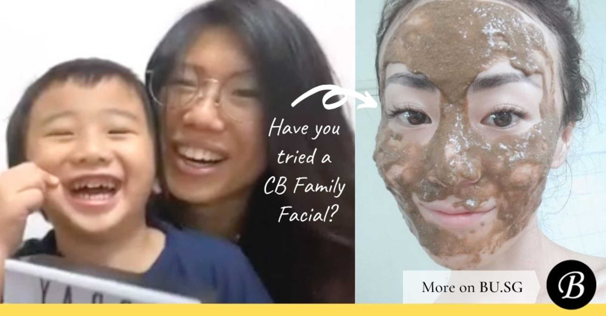 Survive Circuit Breaker: DIY At-Home Family Facial with Kids
