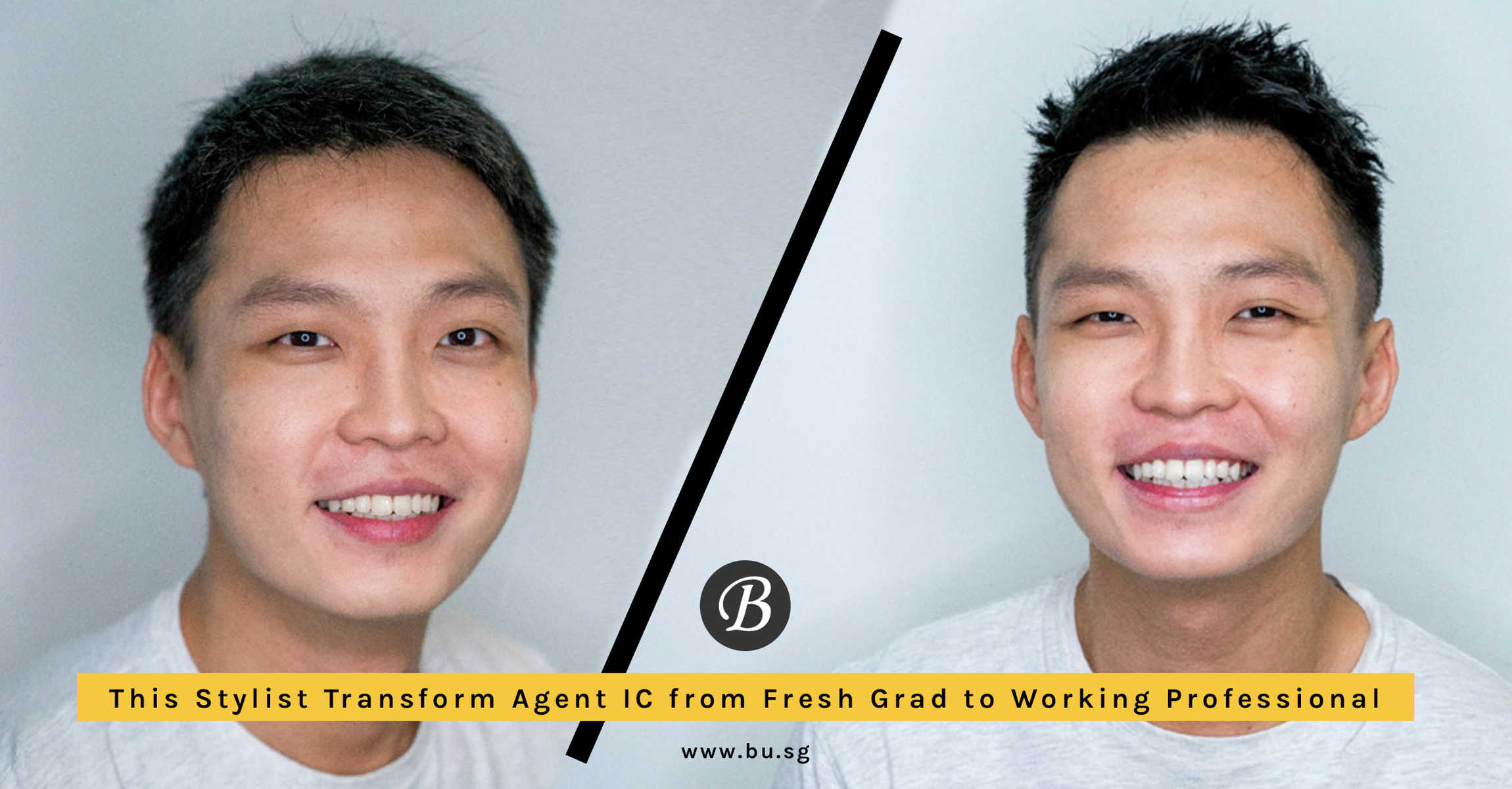 Which Stylist Fresh Grads Should Go to For Men's Haircut