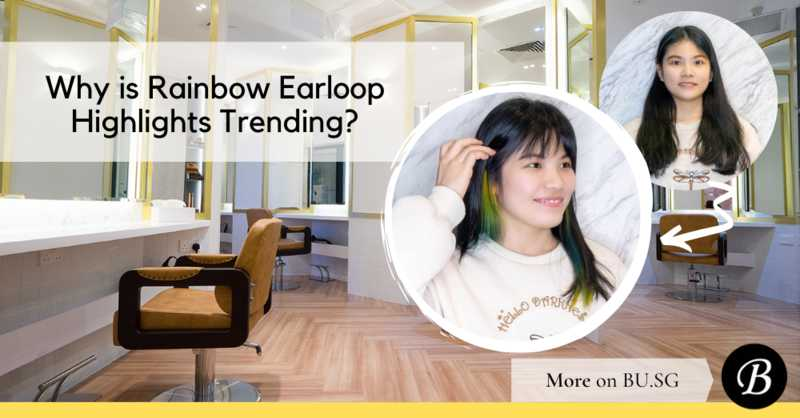 Rainbow Earloop Highlights and Why This Low-Fuss Low-Maintenance Colour Should Be Your Preferred Rainbow Dye