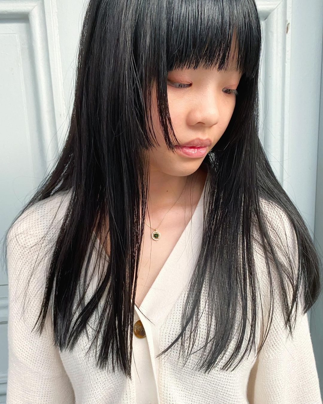 Long Hair Hime Cut at the Fluxus House