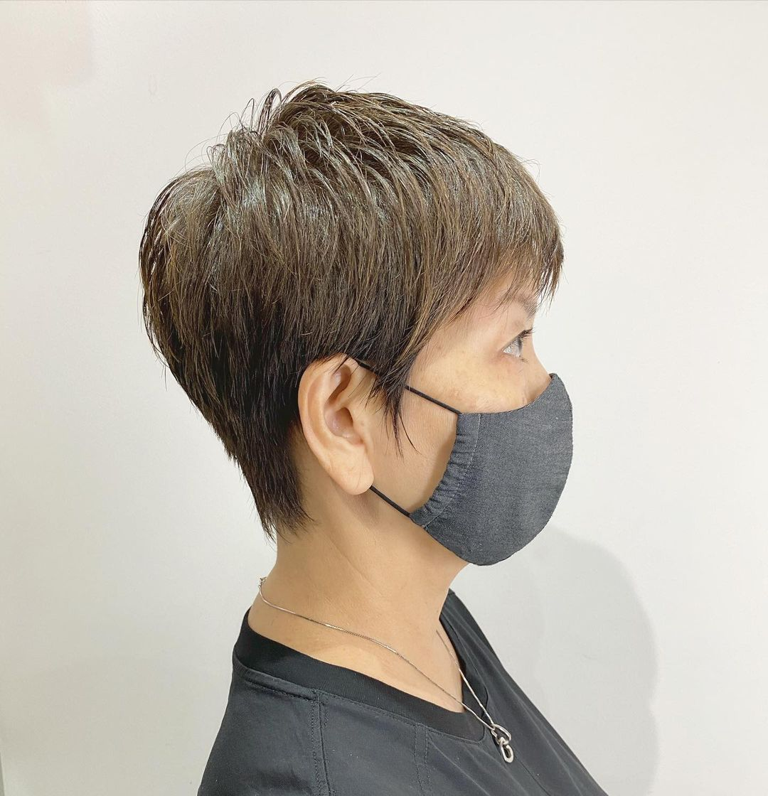 PIxie Cut Short Hair at Finder by COVO