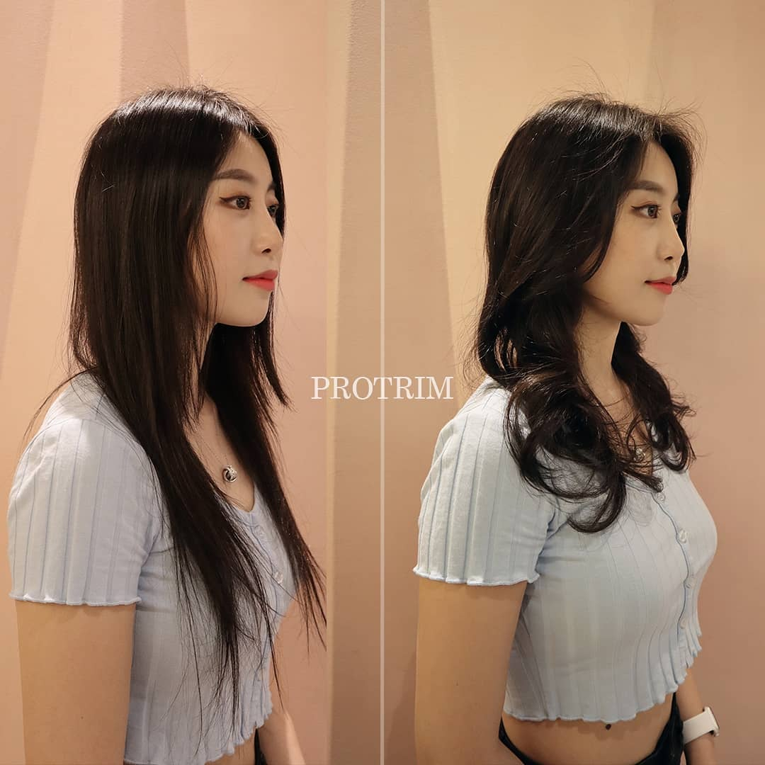 Beautiful perms and colours by pro trim korean hair salon