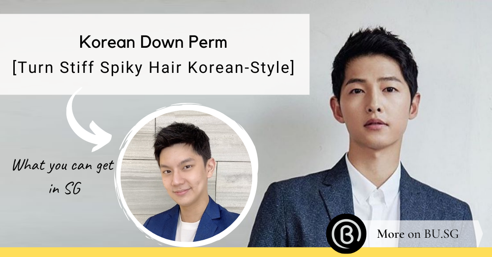 Down Perm: The Korean Secret to Polished Manageable Suave for Men with Straight Hair in Singapore